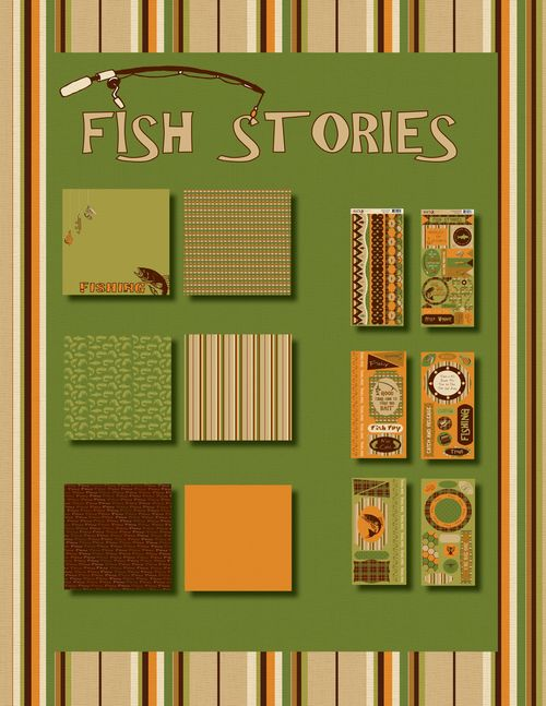 Sneak peek Fish Stories