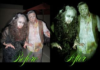 Zombies before and after