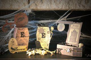 Coffins spooky
