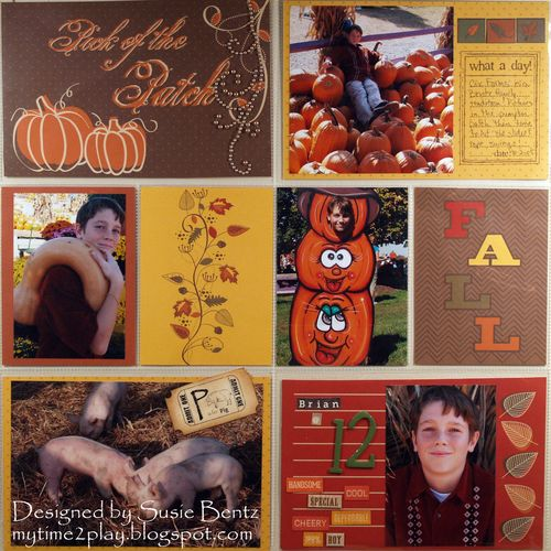 Moxxie Forever Fall Project Life Susie Bentz