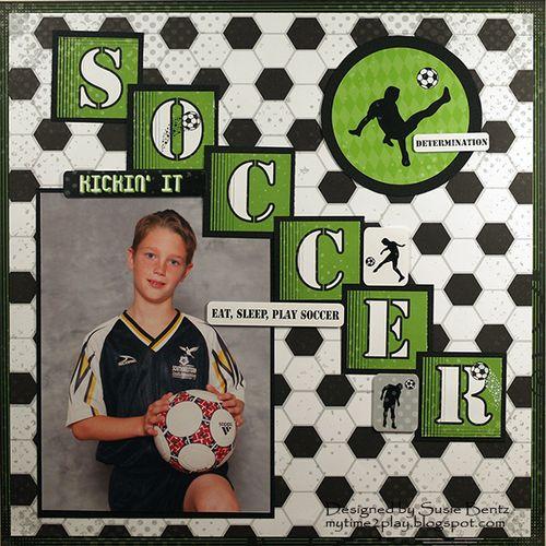 Moxxie Soccer Layout by Susie Bentz