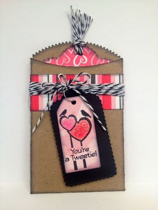 Valentine gift card holder 1