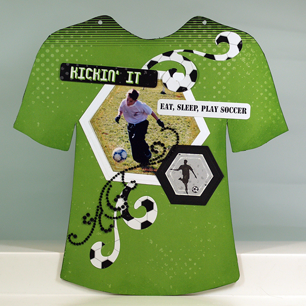 Soccer 3 mini slabum Want2Scrap Moxxie Susie Bentz