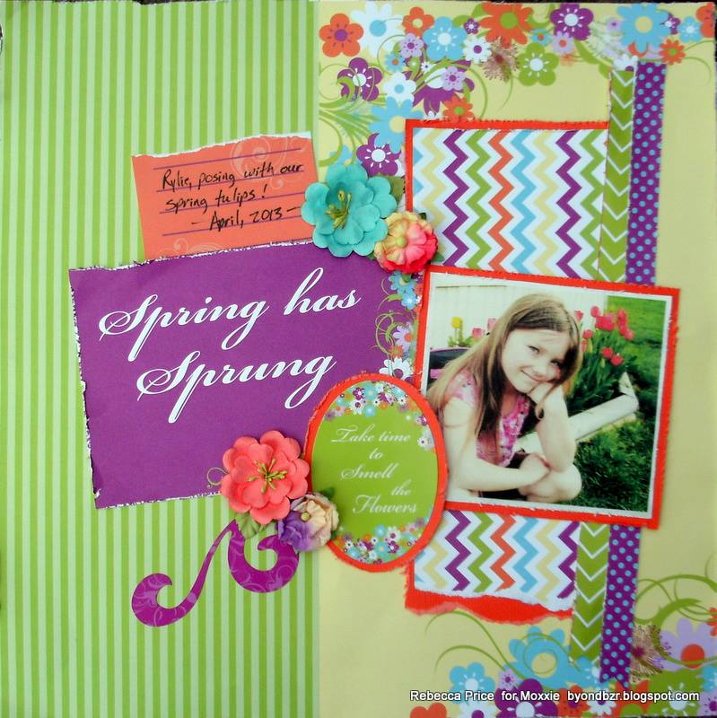 Spring Has Sprung layout