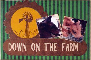 Moxxie Down On the Farm Project Life Susie Bentz 1