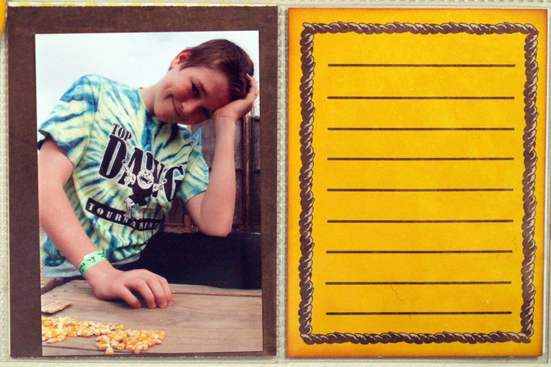 Moxxie Down On the Farm Project Life Susie Bentz 6