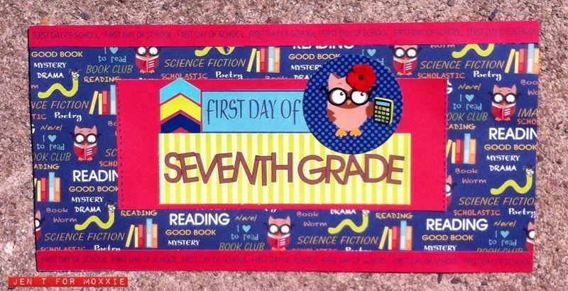 Moxxie Muse JenT Brainiac School Grade sign