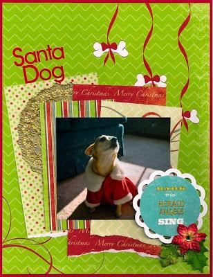 Santa-dog, Moxxie, Muse Joan, Happy Pawlidays