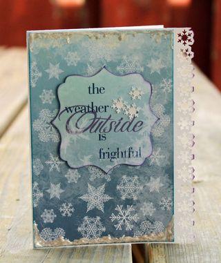 Moxxie Winterland Outside card
