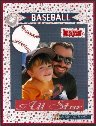 5 Moxxie Joan All Star Baseball