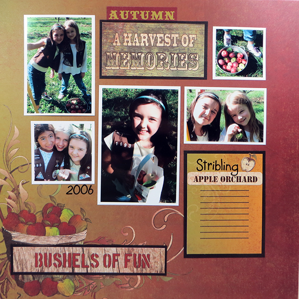 Moxxie Fall Harvest Layout 2 Susie Bentz