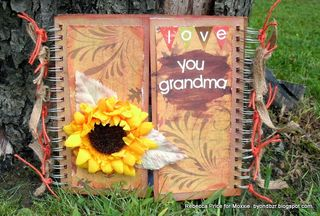 Moxxie Rebecca Autumn Glory photo frame