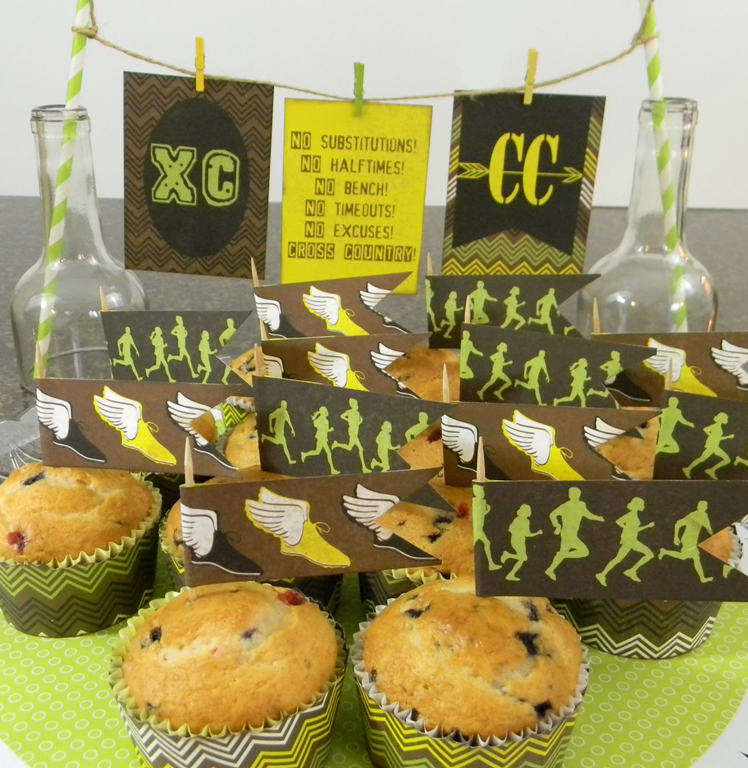 Moxxie Cross Country muffins