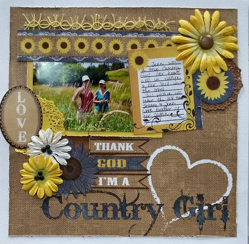 Moxxie Country chic layout 1 Peggy Stolley