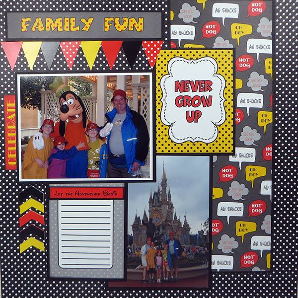 Capture the magic layout 2 Susie Bentz