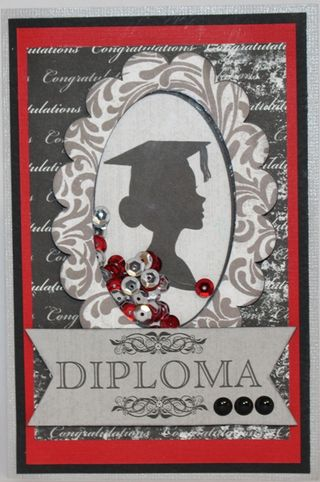 Moxxie Julie Graduation Day card
