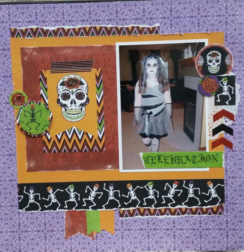 Moxxie Day of the Dead layout 3 Peggy Stolley